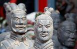 The terracotta warriors in Xian